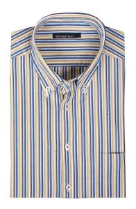 Henderson Cotton Rich Short Sleeve Striped Shirts(3359),S-XXL, 2 options