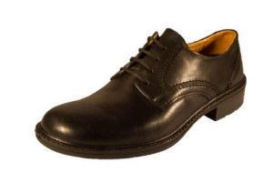 DB'S MENS EXTRA WIDE FIT(EE - FIT) FORMAL LACE UP SHOES IN BLACK, SIZE UK6 TO UK14