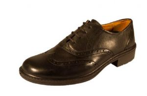 DB'S MENS EXTRA WIDE FIT(EE - FIT) FORMAL LACE UP TRADITIONAL BROGUE SHOES IN BLACK, SIZE UK6 TO UK14