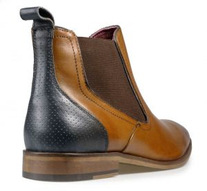 Paul O'Donnell Mens Chelsea Boot - Phoenix Cognac in Size UK 6 to UK 15