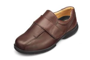 Men'S Casual Shoes (Josh)6V Wide Fit By Db Shoes in Brown