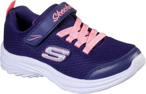 Skechers Dreamy Dancer Miss Minimalistic Sports Shoe Childrens Sports in Navy/Coral