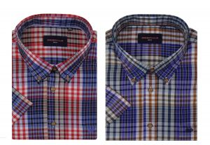 GCM Pure Cotton Smart Casual Leisure Shirt (3524) in Size 2XL to 5XL, 2 Options
