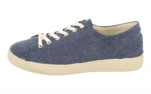 DB's Men's Extra Wide (2V Fit) Modern Washed Canvas Leisure Shoes (Peter) in Navy