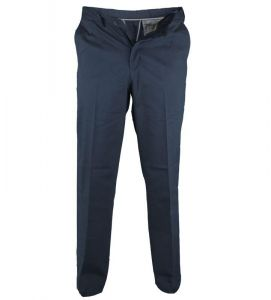 BRUNO-D555 Chino Trouser With Extenda Waist In Navy (1465)