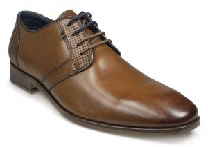 Paul O'Donnell Mens Lace Up Formal Shoe - Tampa in Cognac