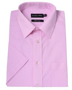 Double Two Mens Classic Cotton Blend Half Sleeved Shirt (3300)