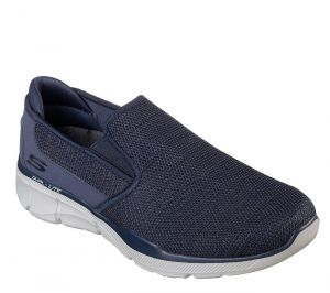 SKECHERS Men's Relaxed Fit-Equalizer 3.0 Sumnin Casual Walking shoe in Navy