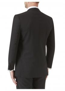 SKOPES Wool Blend Latimer Dinner Suit Jacket in Black in Size 34 To 62