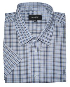 Metaphor Mens Big Size Poly Cotton Check Shirts (19) in Size 2XL to 8XL, Multiple Colour Options