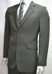 """VOEUT MENS FORMAL SINGLE BREASTED 2 BUTTON SUIT JACKET (ROBERTO) IN BLACK IN CHEST SIZE 36 TO 64"""", SHORT AND REGULAR"""