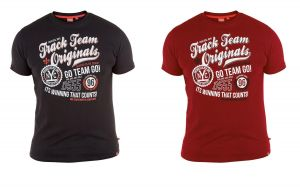 """D555 Extra Tall Cotton Printed T Shirt""""Track Team"""",Size LT-3XLT, 2 Options"""