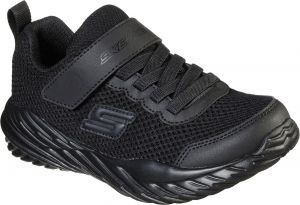 Skechers Nitro Sprint Krodon Sports Trainer Childrens Sports in Black