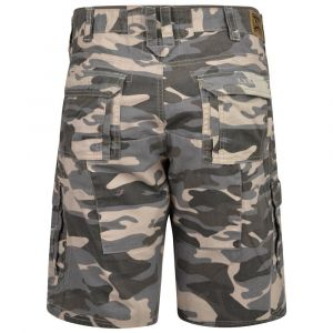 KAM Mens Big Size Pure Cotton Camou Cargo Shorts (329)