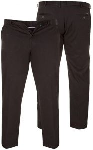D555 Big Size Stretch Chino Mens Trousers With Extenda Waist