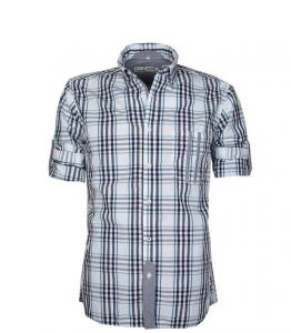 GCM PREMIUM LEISURE CHECKED SHIRTS (3109) WITH ROLL UP SLEEVES IN SIZE 2XL TO 5XL