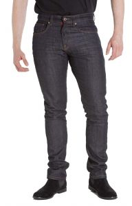 D555 Mens Big Size 1959 Fit Stretch Jeans With Contrast Colour Stitching (Abraham)