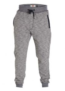 D555 Mens Big Size Slub Cuffed Jogger With Side Pockets And Overlock DetaiL (Denzel)