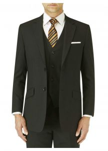 SKOPES Mens Extra Tall Darwin Formal Suit Jacket in Black