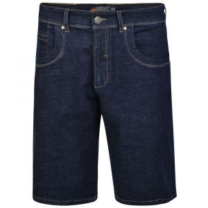 KAM Mens Big Size Stretch Indigo Shorts (Benjamin)