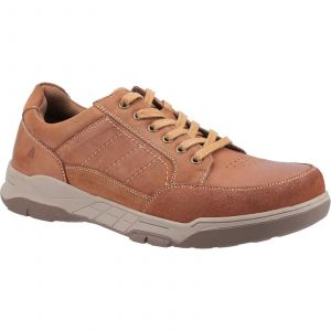Hush Puppies Finley Laces Mens Shoes in Tan