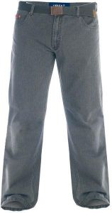 Duke London Regular Original Fit Bedford Cord Enzyme Washed Jeans With Belt (Canary)