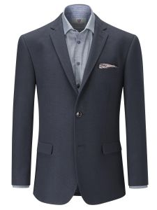 SKOPES Mens Soft Canvas Tailored Sports Jacket in Navy Chest Size 34 to 62 Inches
