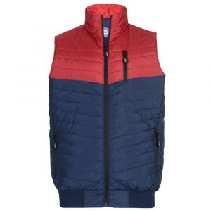 KAM Mens Big Size Contrast Chevron Bodywarmer (87)