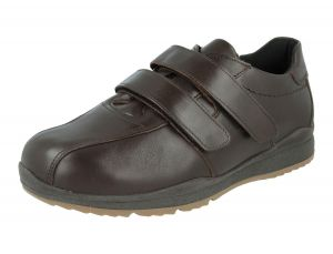 Men'S Casual Shoes (Stephen)6V Wide Fit By Db Shoes in Dark brown