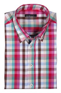 Henderson Cotton Rich Short Sleeve Check Shirts (3360), S-XXL, 2 options