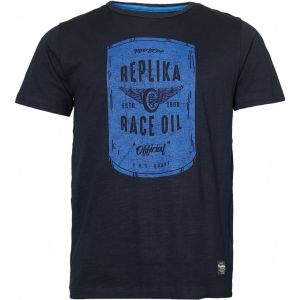 Replika Jeans Mens Extra Tall Cotton Printed Tee Shirt (01306)