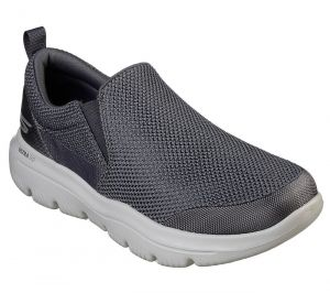 SKECHERS Men's GoWalk Evolution Ultra-Impeccable Trainers in Charcoal