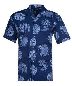Espionage Mens Big Size Cotton Revere Collar Summer/Hawaiian Shirts(SS19)