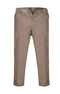 BRUNO-D555 Chino Trouser With Extenda Waist in Stone (1465)