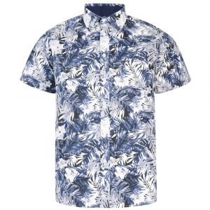 KAM Men's Big Size Floral Print Shirt (6179)