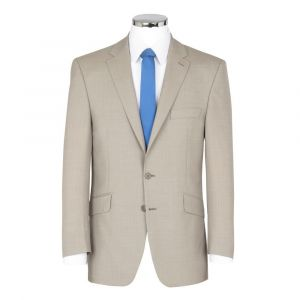 SCOTT Mens Linen Blend Summer Weight Stone Suit Jacket In Size 46 to 60 Inches, S/R/L
