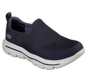 SKECHERS Men's GoWalk Evolution Ultra-Rapids in Navy/Grey