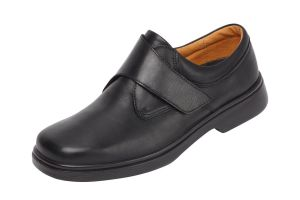 Men'S Casual Shoes (Reece)6V Wide Fit By Db Shoes in Black