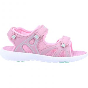 Hush Puppies Lilly Quarter Strap Sandal Girls Shoes in Pink