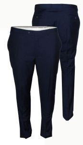 Mens Formal Classic Fit Suit Trousers in Ink Blue (Jeff)