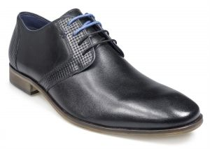 Paul O'Donnell Mens Lace Up Formal Shoe - Tampa in Black