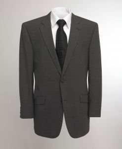 SKOPES MENS OSLO WOOL RICH GREY SUIT JACKET IN CHEST SIZE 34 TO 62