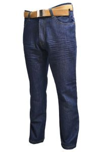 Mens Classic Fit  Jeans (Kori) By Creon Previs in Blue Indigo