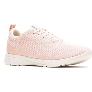 Hush Puppies Good Laces Ladies Shoes in Pink
