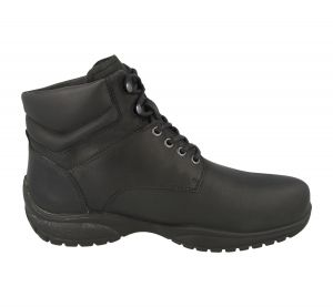 Mens (Odessa) 6V Wide Fit By Db Shoes in Black W/Proof Nubuck
