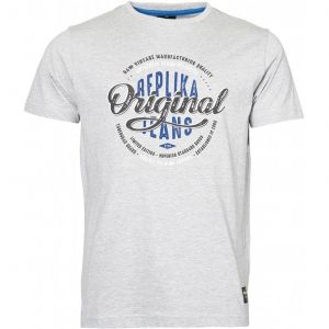 Replika Jeans Mens Extra Tall Cotton Printed Tee Shirt (01307)