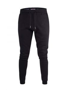 Duke - D555 Cuffed Jogger With Side Pockets And Drawcord In Black Colour 2Xl- 6Xl