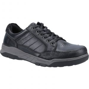 Hush Puppies Finley Laces Mens Shoes in Black