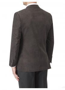 SKOPES Mens Extra Tall Length Soft Touch Tailored Sports Jacket in Smoke Color in Chest Size 44 to 54 Inches