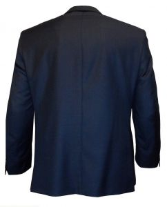 SCOTT Mens Extra Tall Wool Blend Single Breated Suit Jacket in Ink Blue 40XL to 50XL